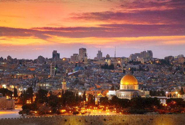 jerusalem evening